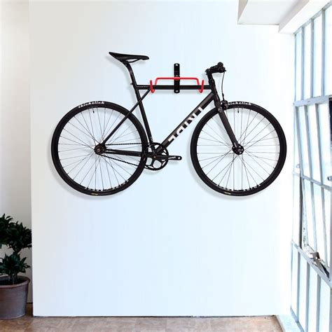 bike rack garage wall 2pcs bike wall mount hanger garage storage hook holder rack cycling bicycle ebay
