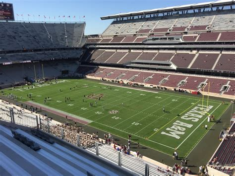 kyle field visitor section kyle field section 329 rateyourseats com