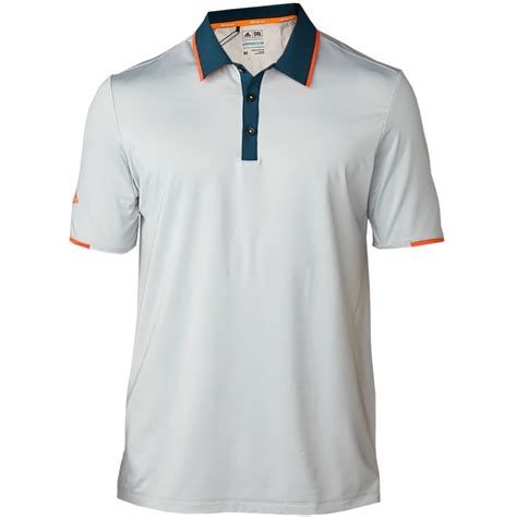 7 Golf Shirts For by 2016 Adidas Mens Climacool Performance Lightweight Sleeve