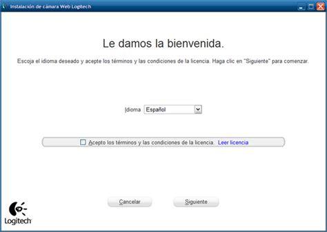 driver web logitech software