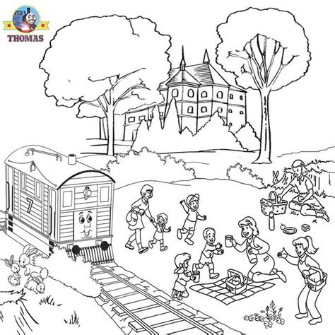 the little engine that could free coloring pages