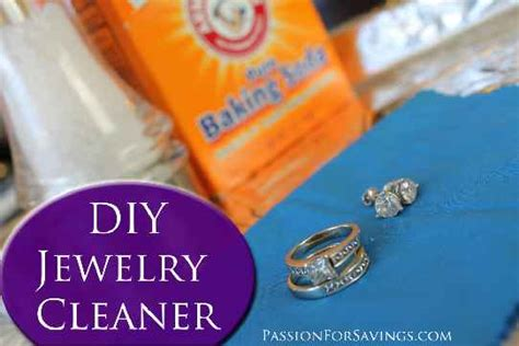 how to make jewelry cleaner at home how to make your own jewelry cleaner i just tried this