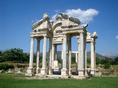 Which Culture Became Known For Building Marble Temples - aphrodisias antique city aphrodisias org