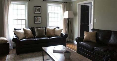 and black living room decorating ideas decorating with black leather couches my house