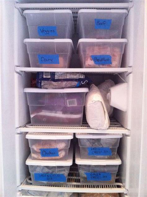 organization bins easy freezer organization with plastic bins painter s