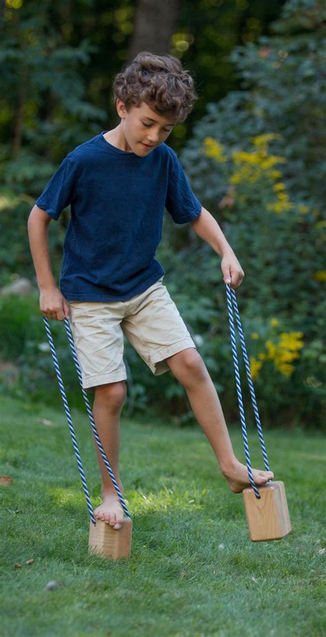 kids love  challenge  walking blocks