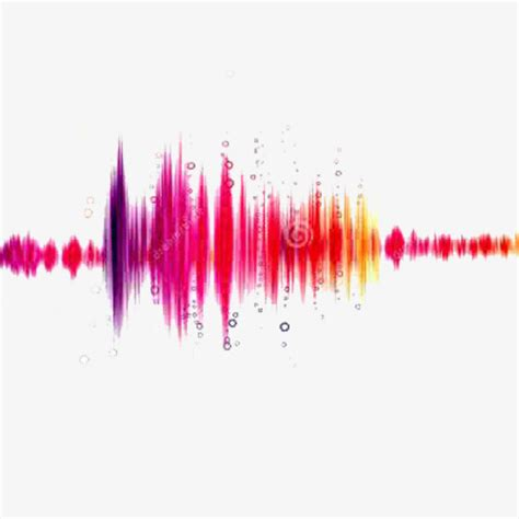 color and sound color sound waves color clipart sound clipart color png