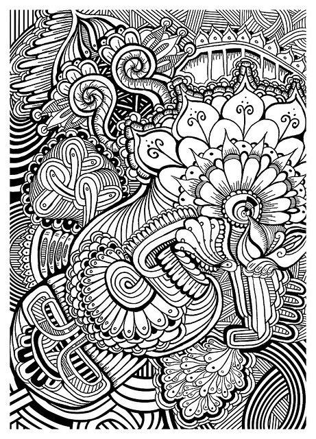 printable zentangle images printable zentangle coloring pages www pixshark com