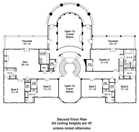 courtroom floor plan doneraile court 6138 6 bedrooms and 6 baths the house