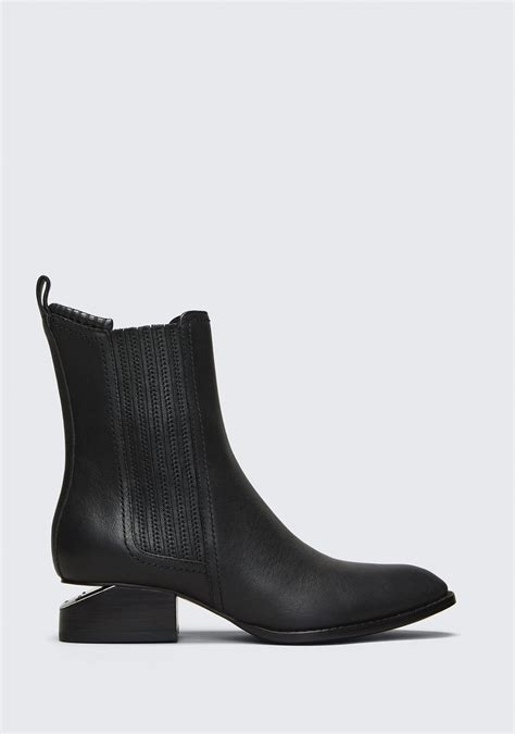 wang boots anouck boot with rhodium boots wang official