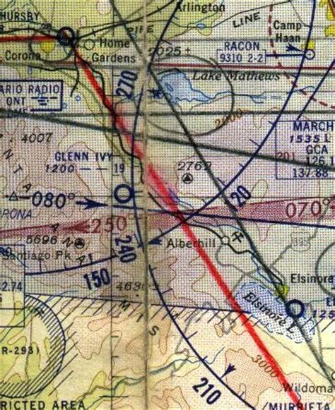 San Diego Sectional Chart by Abandoned Known Airfields California Western