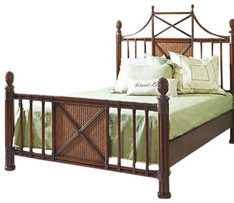 Bamboo Bed by Panama Island King Bamboo Bed Tropical