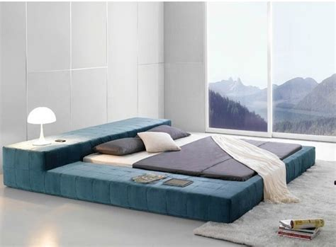 on floor bed frame opaq contemporary bed frame modern bedroom furniture