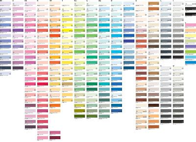 prismacolor marker color chart prismacolor vs copic taylored expressions