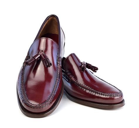 in loafers tassel loafers in oxblood the mod shoes