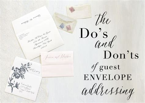 Wedding Invitations Addressing by Best 25 Envelope Addressing Etiquette Ideas On