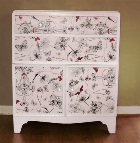 upcycled furniture shabby chic chest of drawers diy
