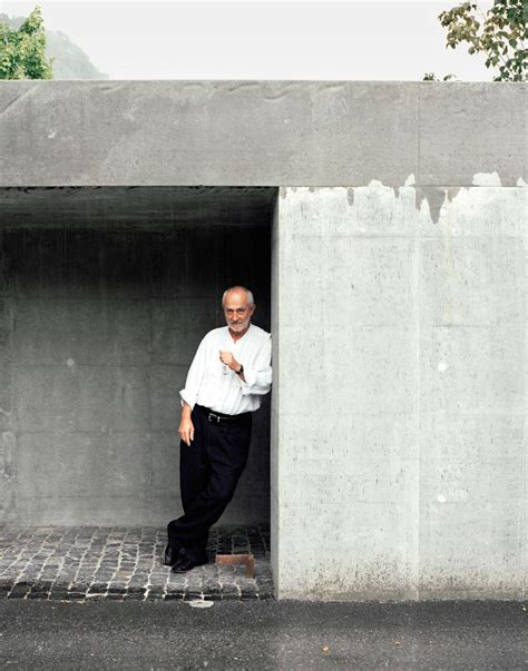 House Blue Prints by Material Aspect Through Peter Zumthor S Two Most Personal