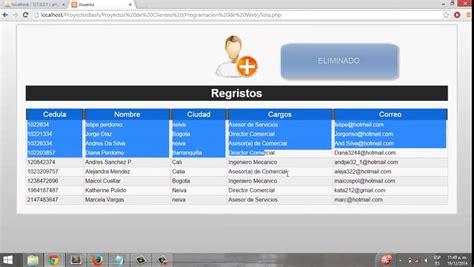 mostrar imagenes guardadas en base de datos php listar los registros de una tabla de base de datos php