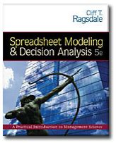 Spreadsheet Modeling And Decision Analysis by Libros De Texto Programas Acad 233 Micos Palisade