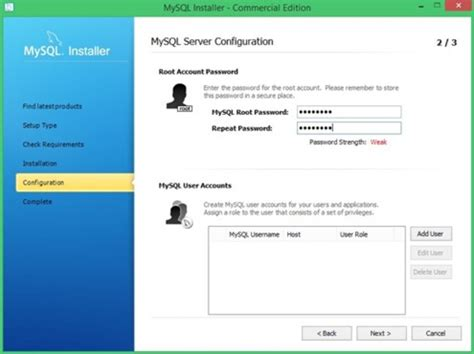 configure xp mysql server mysql download techtudo