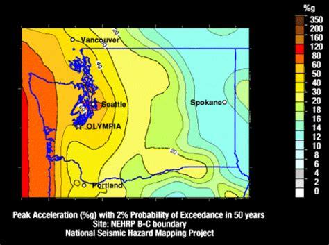 seattle hazard map washington state faults