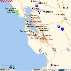 stanford california map 1 map of the san francisco bay area stanford
