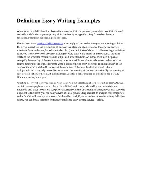 formal essay writing exle