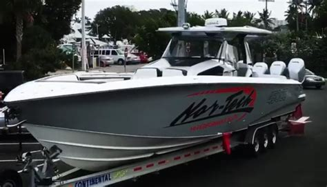 nor tech boats 450 the finished nor tech 450cc delivered to lauderdale boat