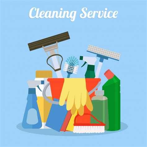 home design services free cleaning set design vector free