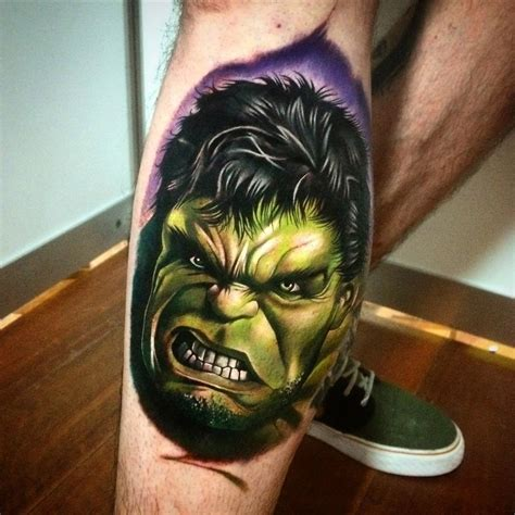 hulk tattoo designs the portrait best design ideas