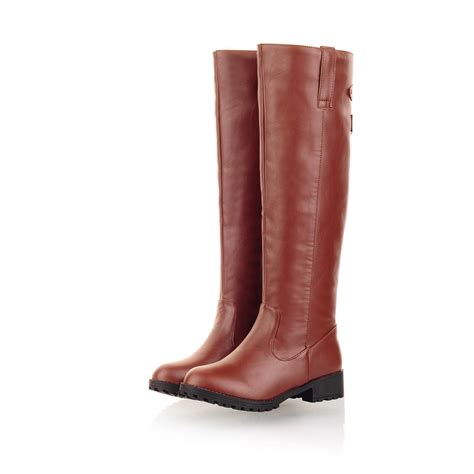 womans boots sale sarairis on sale s knee high low heel boots