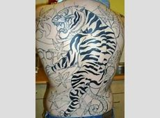 Female Tiger Tattoos On Back Tribal Hand Tattoo Designs