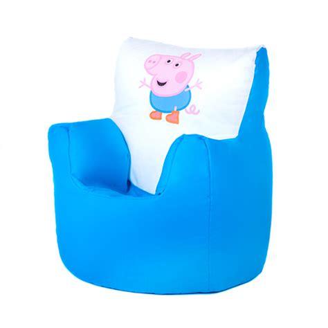 Peppa Pig Toddler Bed Duvet Set George Peppa Pig Children S Kids Bean Bag Chair Seat Boys