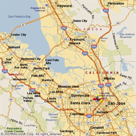 san jose map of california maps of san jose