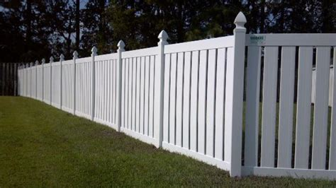 pvc plastic fence company vinyl fencing nc allison fence company