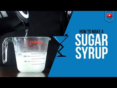 simple syrup sugar syrup quick and easy how to make