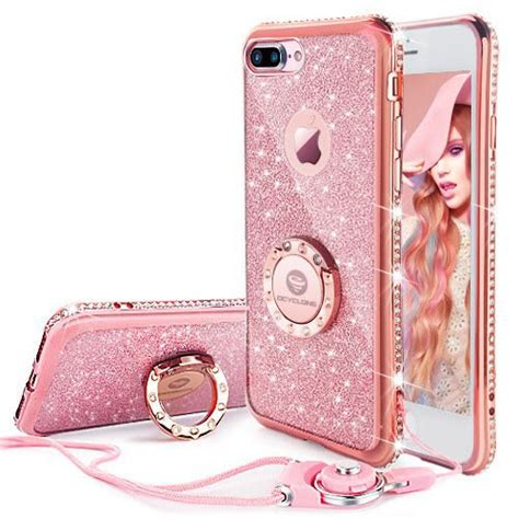 Casing Iphone6s Plus High Quality for apple iphone 7 plus iphone 8 plus glitter