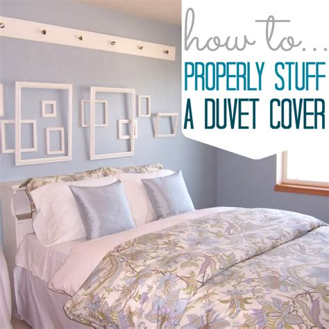 how to put on a comforter cover how to stuff a duvet cover all things g d