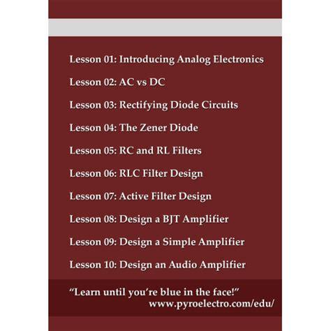 data diode ornl analog electronics tutorial pdf