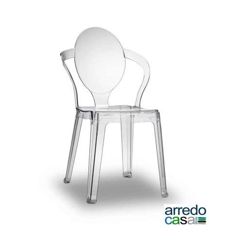 sedie esterno design sedia spoon policarbonato interno esterno scab design