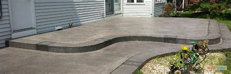 how to level concrete patio home design ideas and pictures
