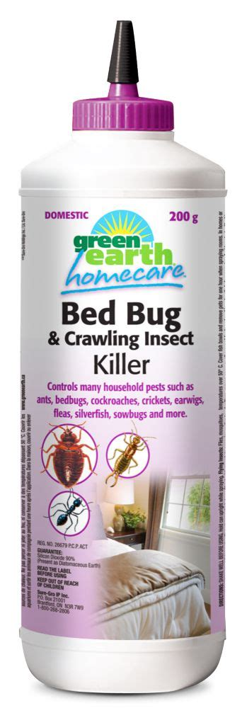 best bed bug spray home depot green earth homecare bed bug killer dust the home depot