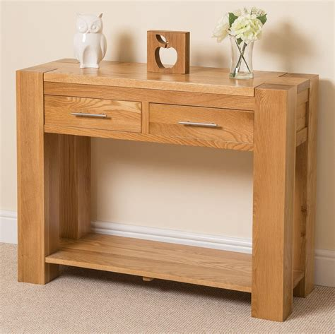 console store kuba oak console table kuba oak furniture