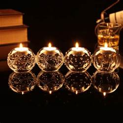 Tealight Candle Holders Clear Glass Tealight Candle Holder Candlestick