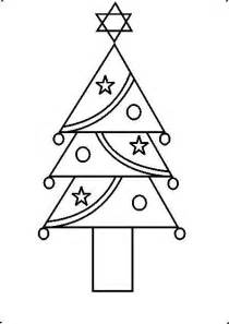 how to draw a christmas tree easy www imgkid com the