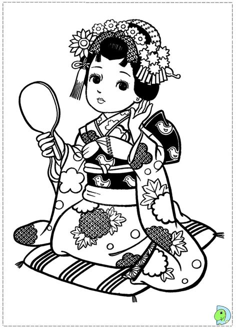 coloring pages japanese style on pinterest coloring