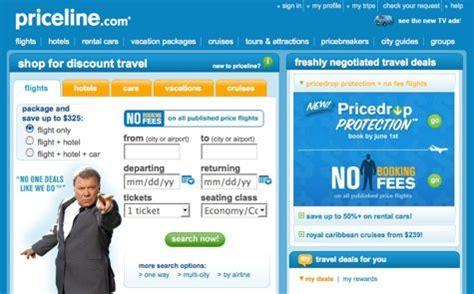 price  priceline  bargain travel  airfare