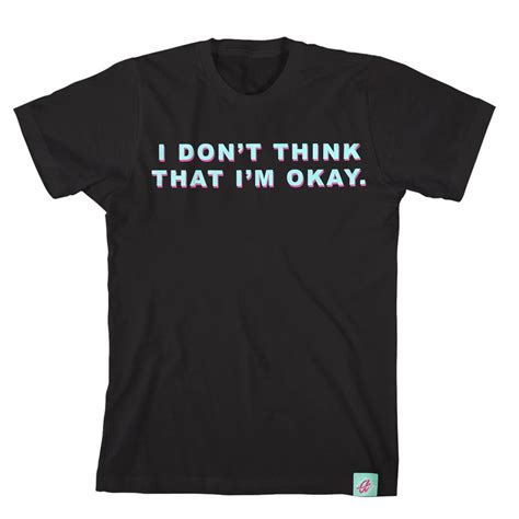Think Black Shirt by I Don T Think Black Aii0 Merchnow Your Favorite