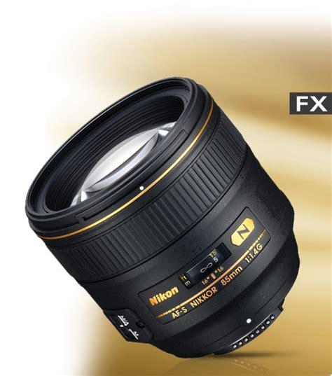 Nikon Af S 85mm F 1 4 G Lensa Kamera Black af s nikkor 85mm f 1 4g de nikon